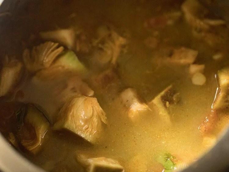 making kathal ki sabzi recipe