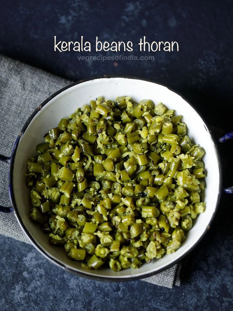 Kerala beans thoran recipe