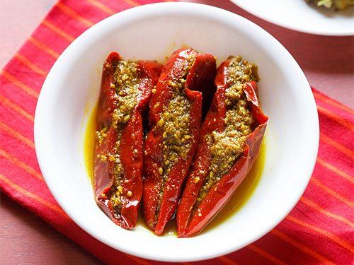 red chilli pickle recipe