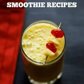 smoothie recipes, healthy smoothie recipes, easy fruit smoothie recipes