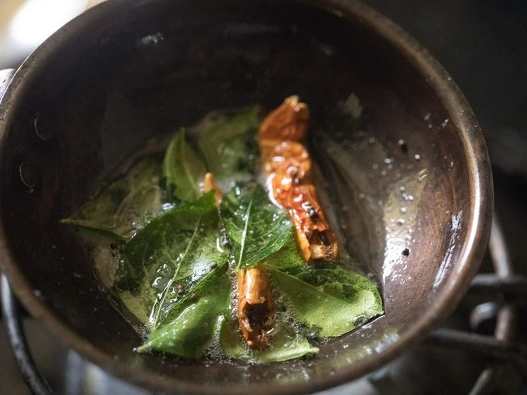 making drumstick sambar recipe