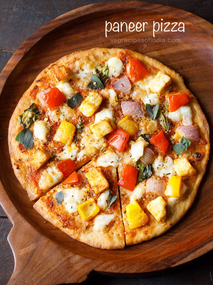 indian paneer pizza recipe