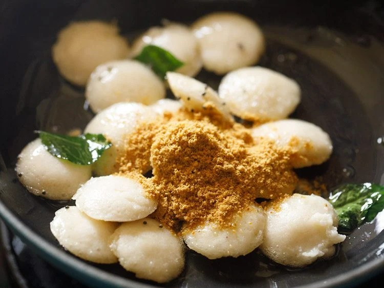 making podi idli recipe