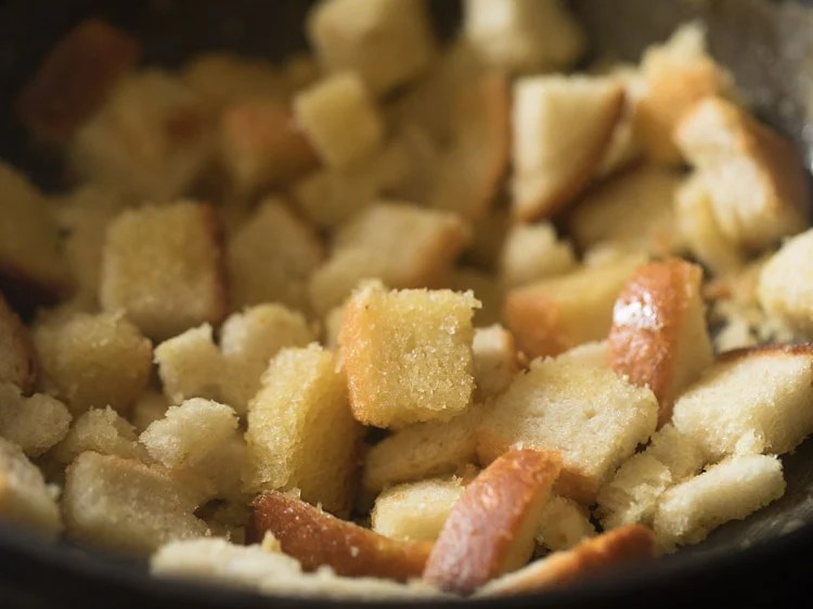 making bread halwa recipe