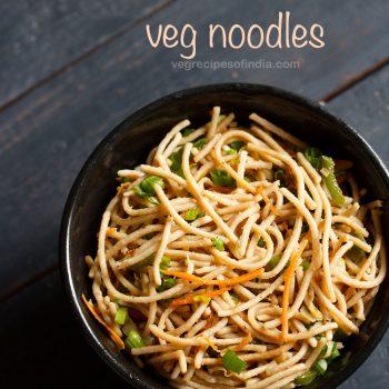 noodles recipe, how to make veg noodles recipe | easy veg noodles