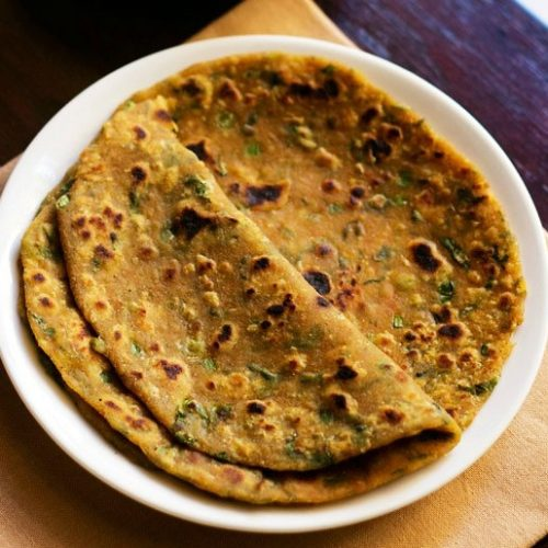 mix veg paratha recipe