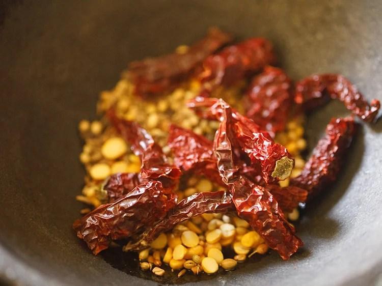 making idli sambar