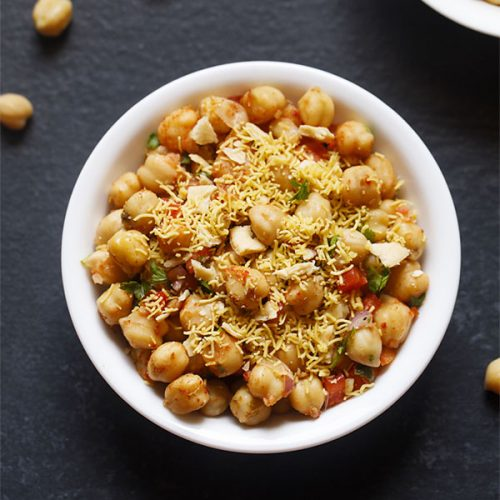 chana chaat recipe