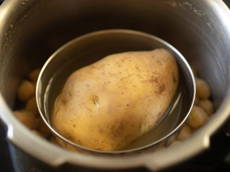 cooked potato