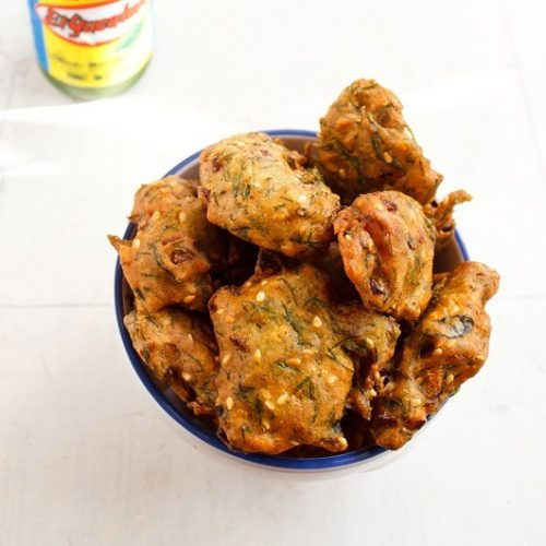 dill leaves pakora