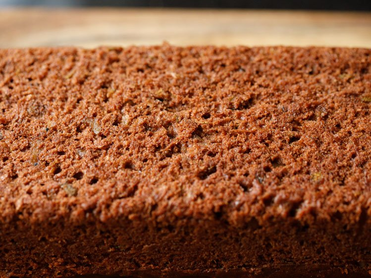 texture of chocolate zucchini bread