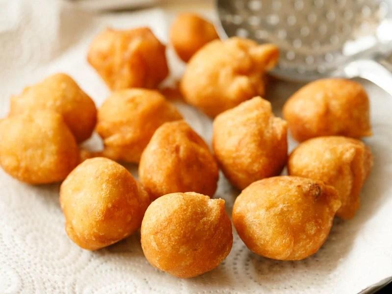 fried lentil dumplings