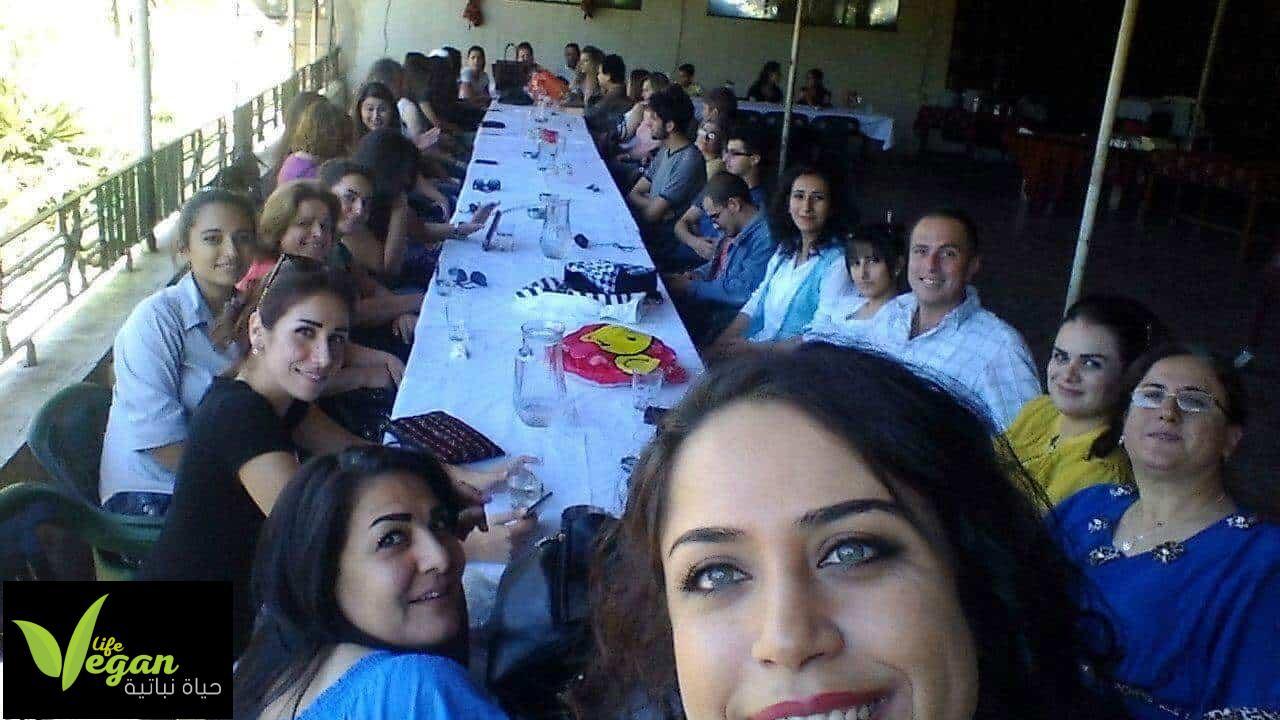 لقاء النباتيين في اللاذقية الساحل السوري