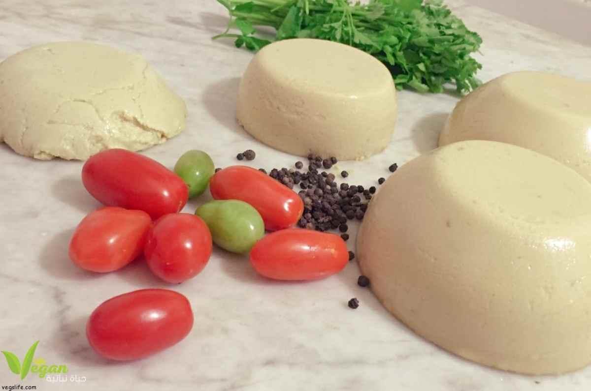 طريقة تحضير جبنة الموزريلا النباتية من اللوز
