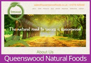 Queenswood Natural Foods website