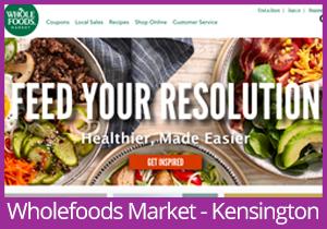 Wholefoods Market - Kensington website