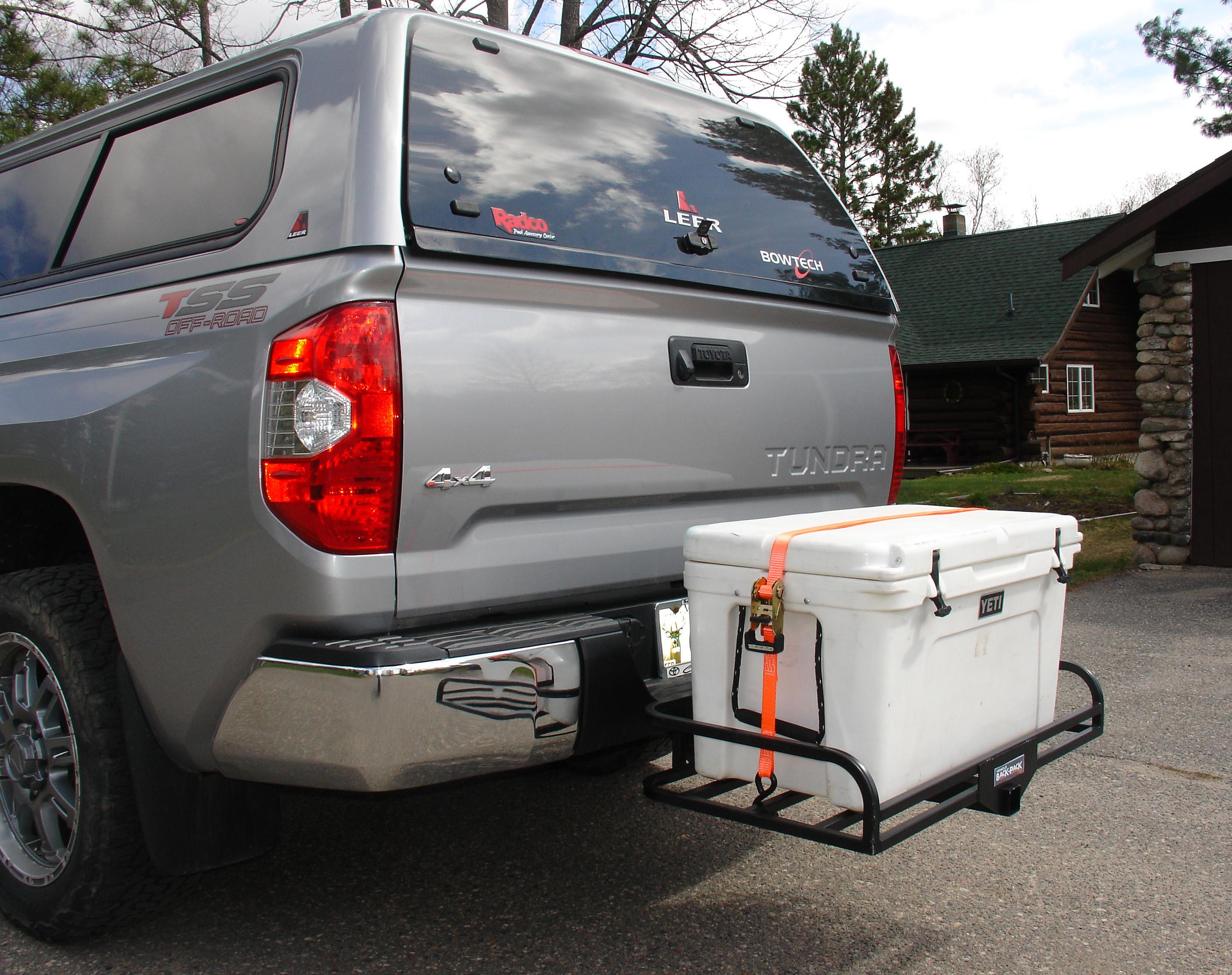 truck suv hitch mount cooler rack