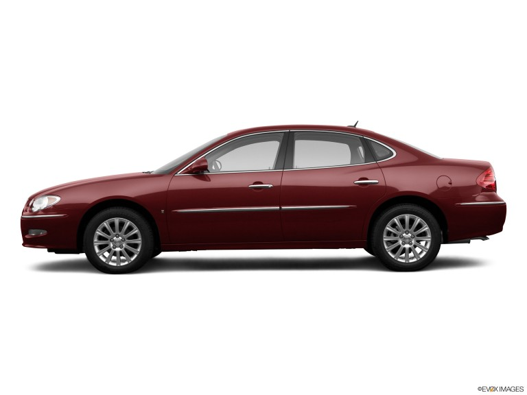Red 2010 Buick Lacrosse