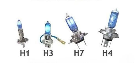 lista sigle attacchi lampadine auto