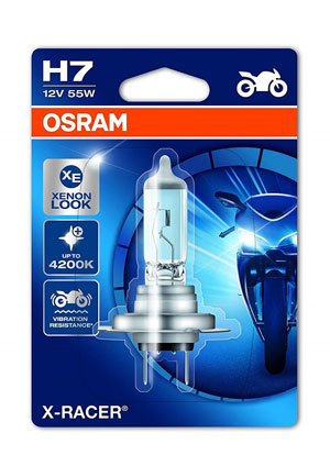 Alogena Osram 64210NR1-01B Night Racer Lampada Auto