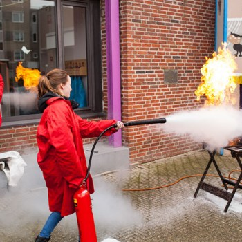 BHV training - brandpreventie