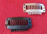 Mini-comb snap clips