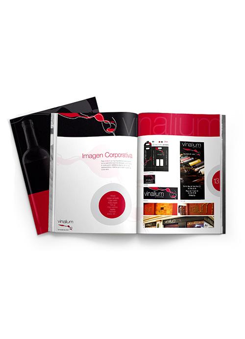 Diseño de catálogo Vinalium