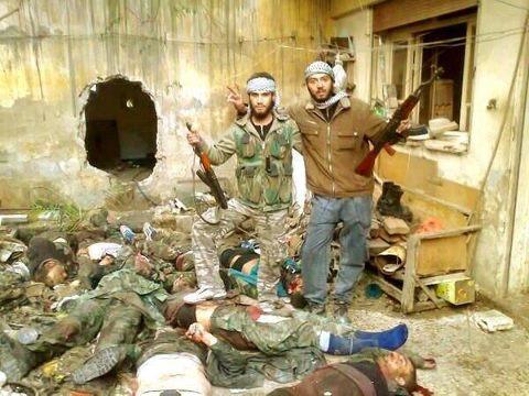Combattenti per la Libertà' in Siria,