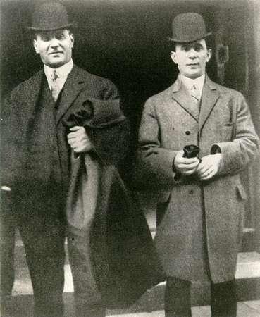 Max Blanck e Isaac Harris