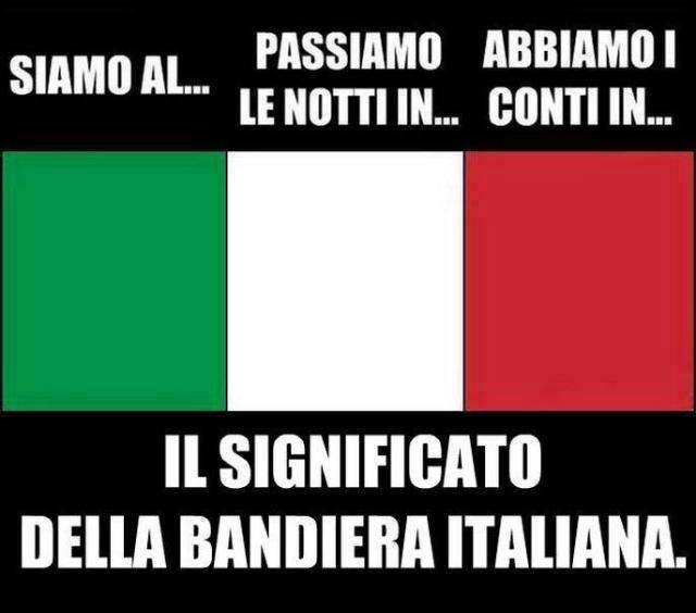 Il significato dei colori della bandiera italiana - Bandiere bianche a colori ...
