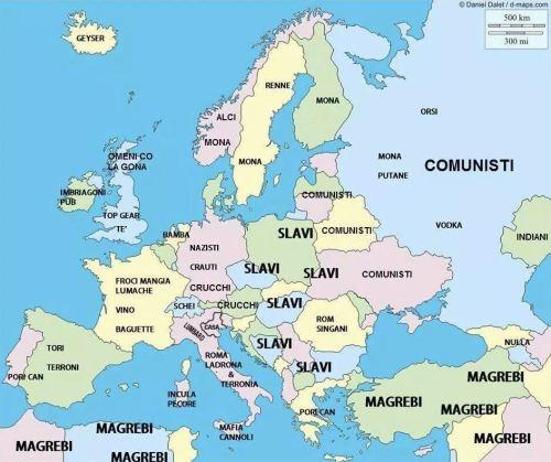 EUROPA VISTA DA UN VENETO