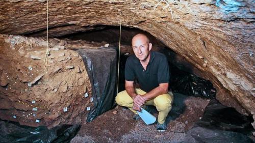 Marco Peresani-grotta-solinas-fumane
