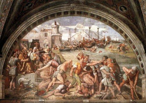 Vaticano-Stanza-dellincendio-di-Borgo_La-battaglia-di-Ostia