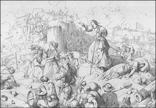 giuseppe-gatteri-1667-candia-ancora-le-donne-in-azione