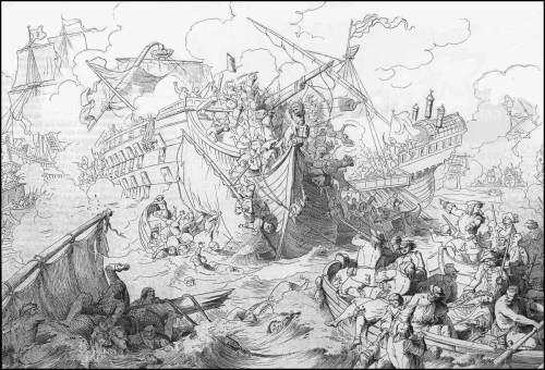 giuseppe-gatteri-1698-battaglia-navale-di-metellino