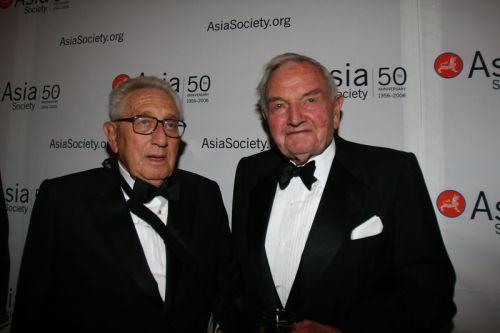 Henry Kissinger e David Rockefeller