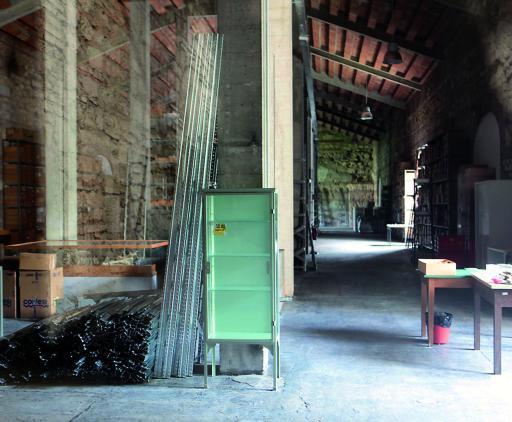 Verona 17/05/2010 monumenti ed edifici storici arsenale arla adibita a deposito del museo di storia naturale photo Giorgio Marchiori foto per Pignatti