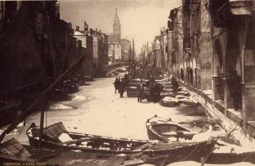 chioggia febbraio 1929