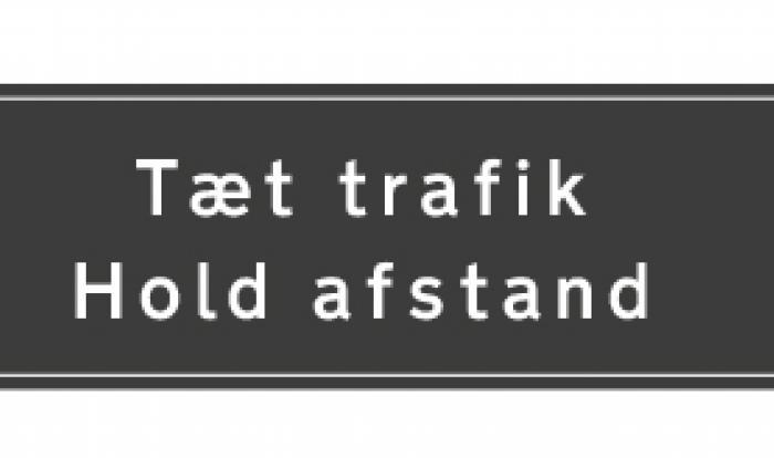 Mere intelligente trafiktavler hjælper trafikanterne på M3