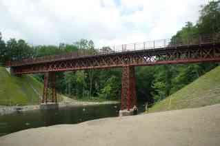 Den genfundne Gammelstrup jernbanebro