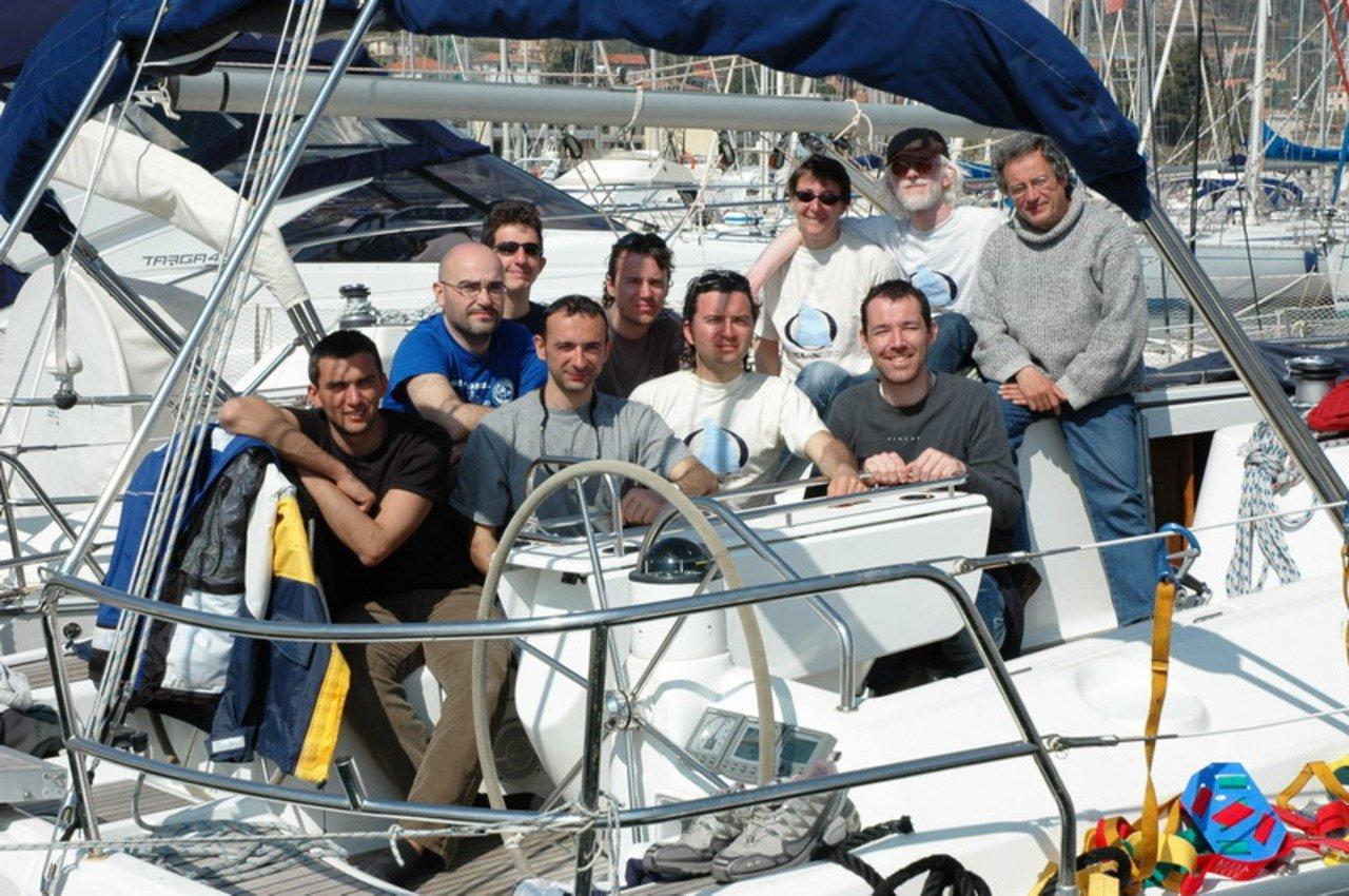 Corso di vela al mare