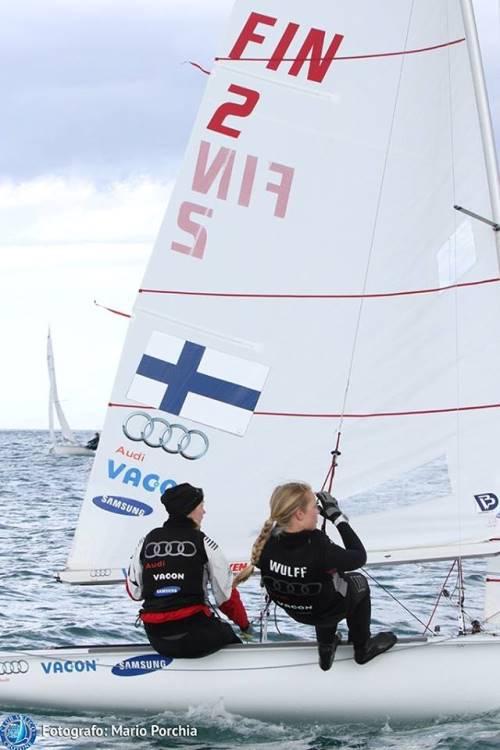 Regata Nazionale Classe 470 Crotone Day 1 Lo Yacht Club