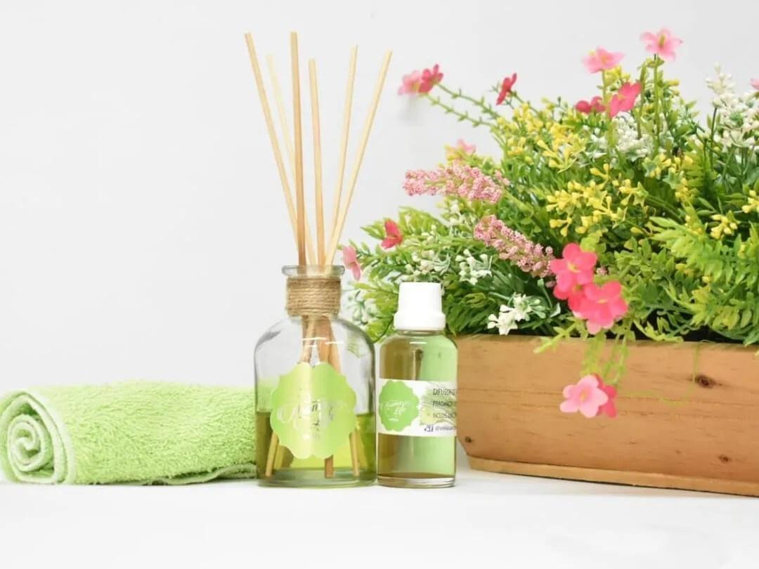 difusores de aroma, velas decorativas y aromatizadas aromaticas