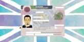 Permanent residence card sample