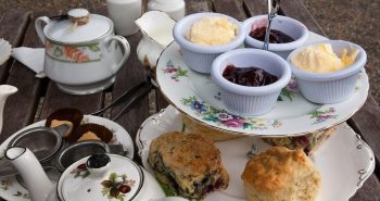 scones cream tea