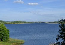 dviragis ezeras