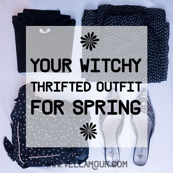 Your Witchy, Thrifted Outfit for Spring