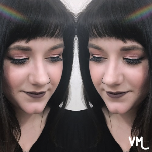 I love the look I created with the Supernova palette