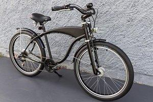 '26beachc ruiser Cruiser Shimano de vélo 7vitesses Moyeu dynamo Schwalbe Noir