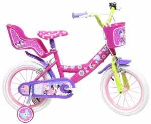 Disney Minnie Mouse Vélo Enfant Rose 14″
